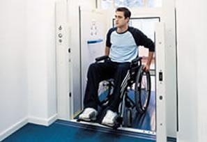 plataforma para deficientes